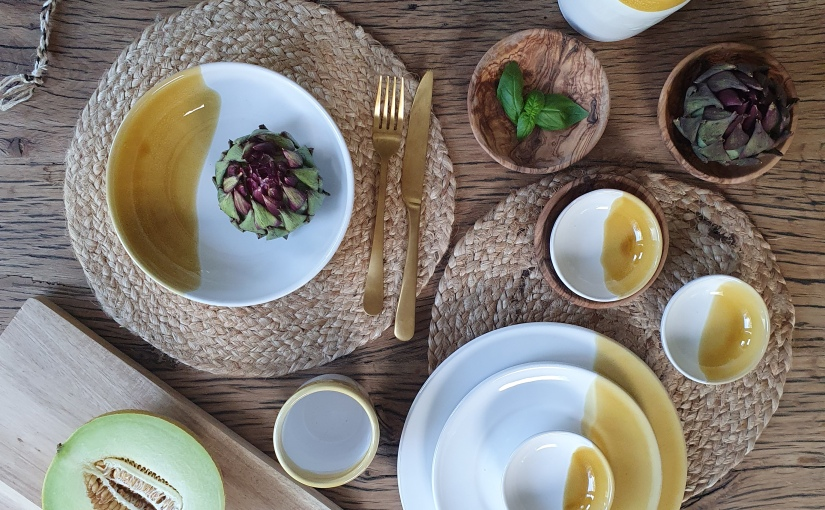 Het prachtige servies van Taste ofPuglia